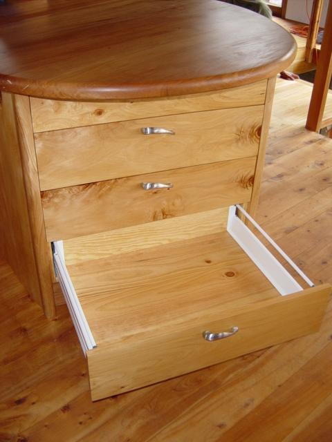 15 drawers - pine interior