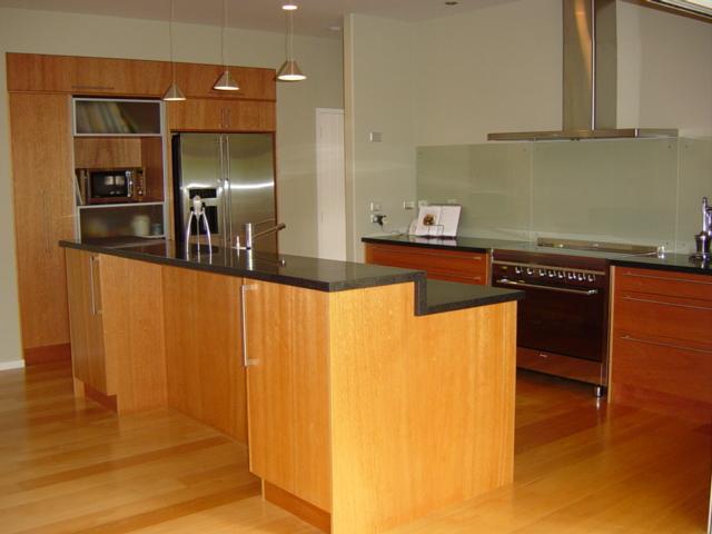 2 European style Meranti kitchen