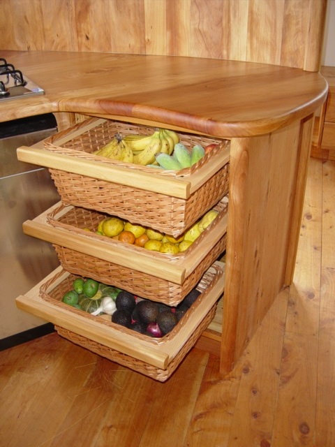 4a pull out fruit vege baskets
