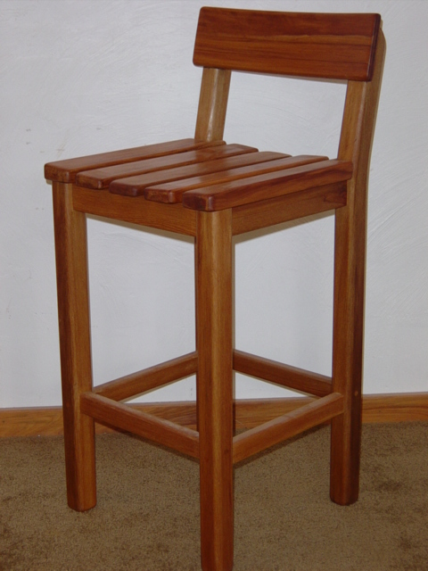 9 Rimu Barstool Wooden Earth Creations Ltd