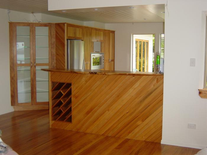 Recycled kauri tall end wall_700x525