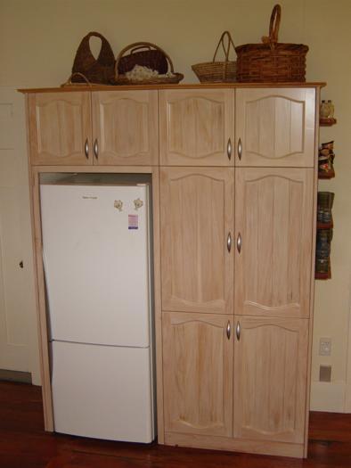 whitewash lacquer finished doors on existing unit_394x525
