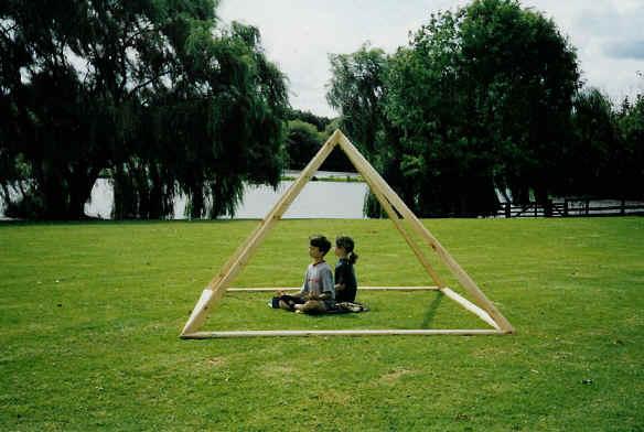Kids love to be under pyramids - pyramids help to soothe & quieten children & pets