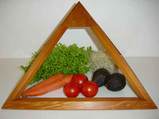 Fresh veges can be treated overnight or stay for longer periods (if not too ripe)